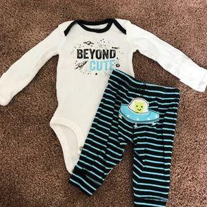 Newborn Carter's Outfit